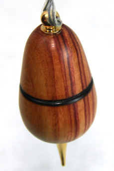 Woodturned Christmas Ornament